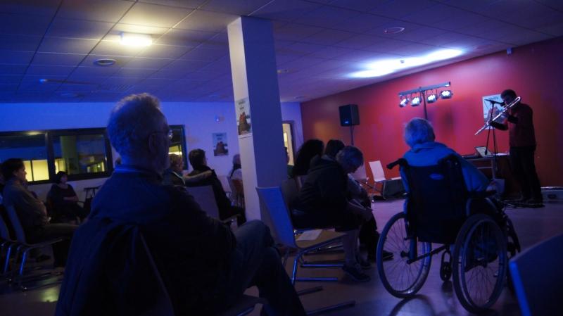 Concert  en hôpital  - Grenoble - Détours de Babel 2013