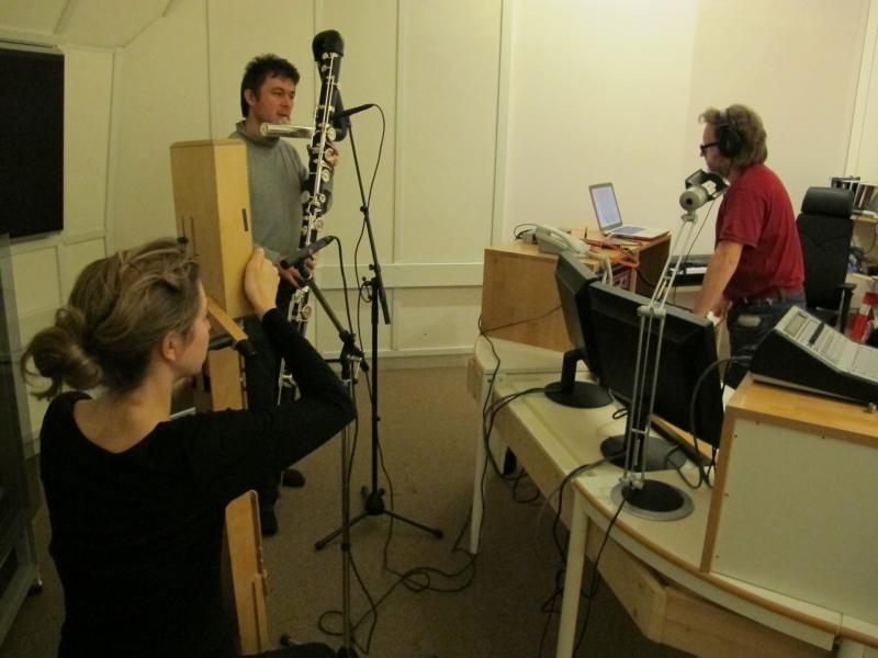 2012 : Résidence au studio EMS de Stockolm avec le compositeur Olofsson